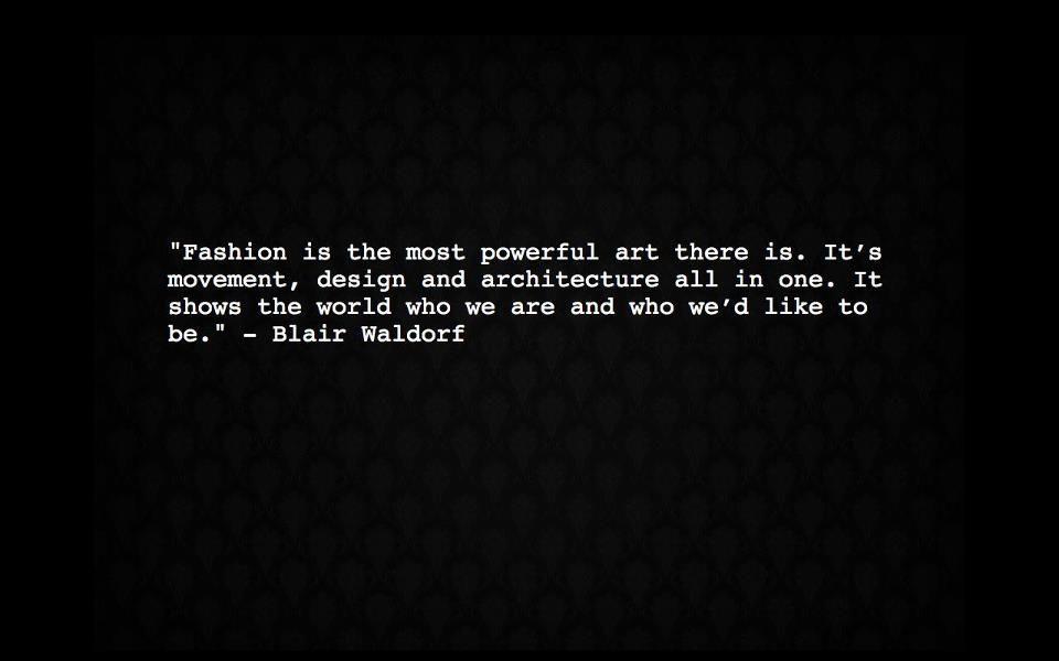 fashion quote!