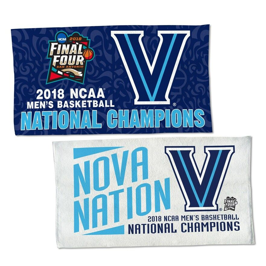 "WinCraft Villanova Wildcats 2018 NCAA Men's Basketball National Champions 22"" x 42"" On-Court Towel"
