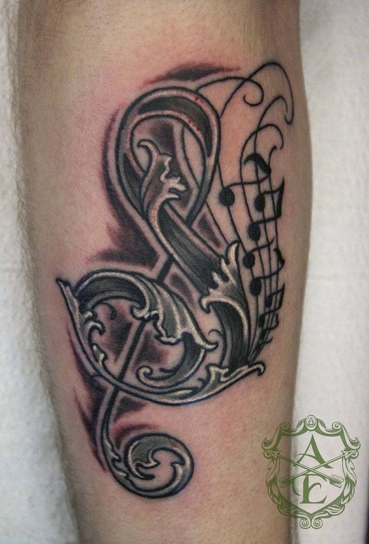 Try new music note tattoo designs photo 1 music tatoos for Music notes tattoo sleeve