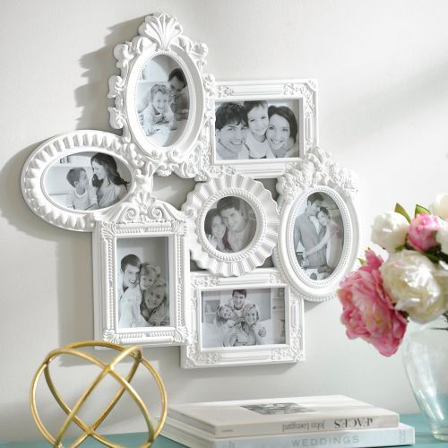 White Venetian Collage Frame | Venetian