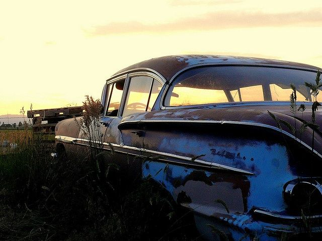 Rusting quietly | Car, Rusty cars, Cars