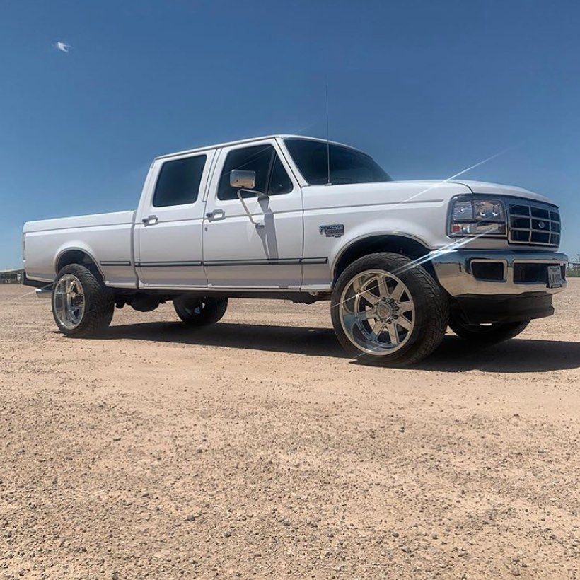 Truckin Tony Crew Short With A Set Of Cpaddict 17 19 Bumper Brackets Follow Cpaddict White F250 Bumper Clear In 2020 Powerstroke Monster Trucks Work Truck