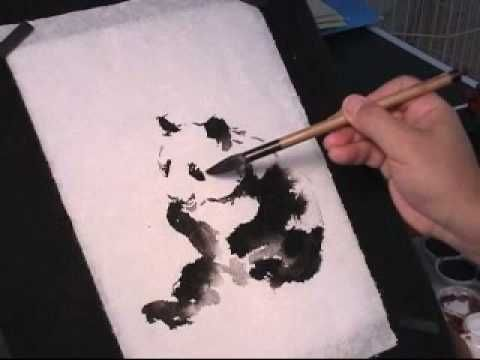 Chinese Ink Techniques With Watercolor Inktechnique Watercolor
