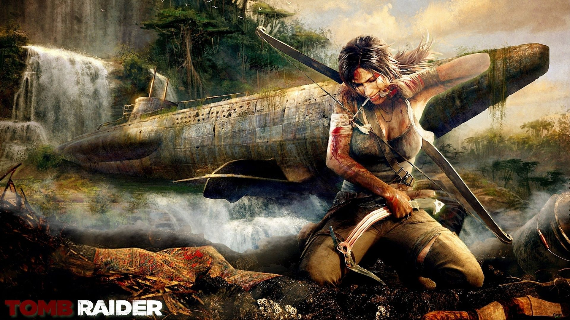 Обои лара крофт, reborn, crystal dynamics, square enix, tomb raider, lara croft. Игры foto 8