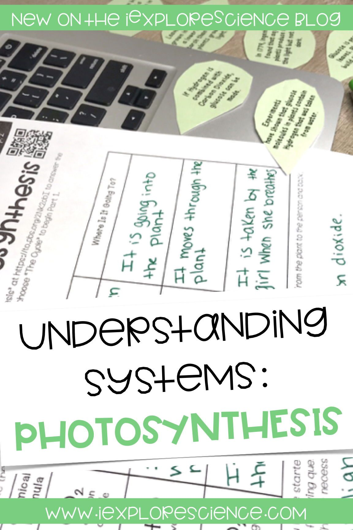 Using Photosynthesis To Understand Systems Exploring