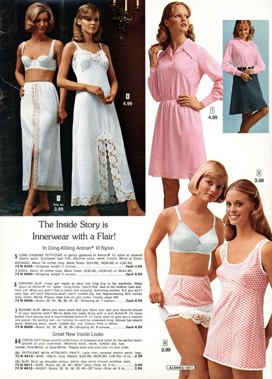 Vintage Lingerie Catalog Aldens Underwear Pinterest