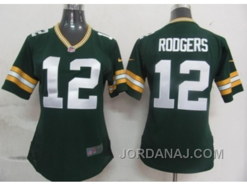 Nike Packers Aaron Rodgers Green Team Color With C Patch Women s Stitched  NFL Elite Jersey c6b3445de