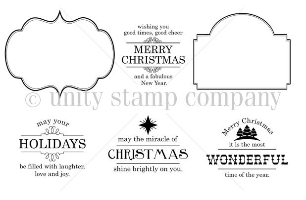 UK-658A-EVERYTHING-CHRISTMAS - Sold at Unity Stamp Company