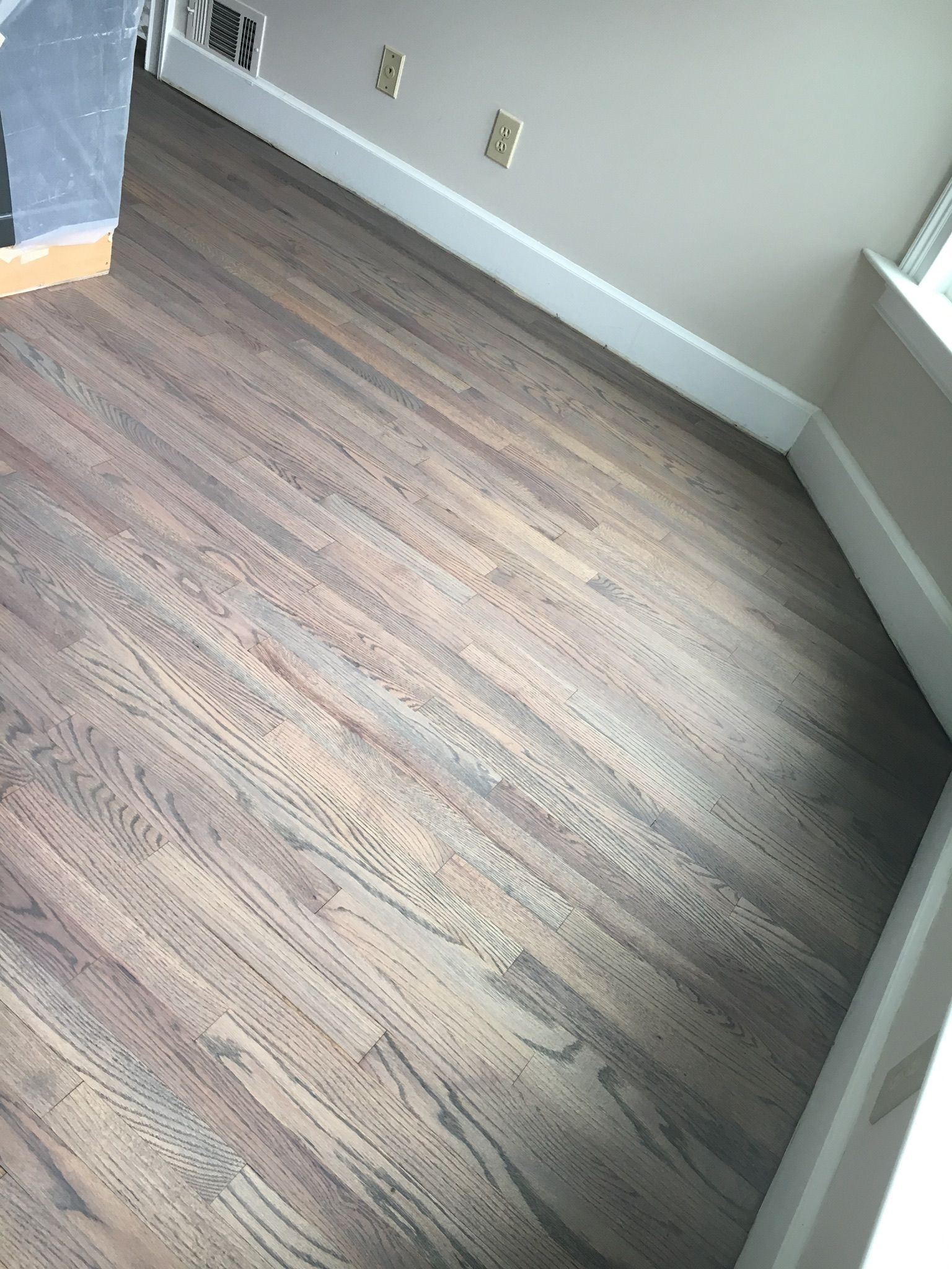 Lino Parquet Blanc Classic Gray And Weathered Oak Diy Home Projects In 2019 Wood
