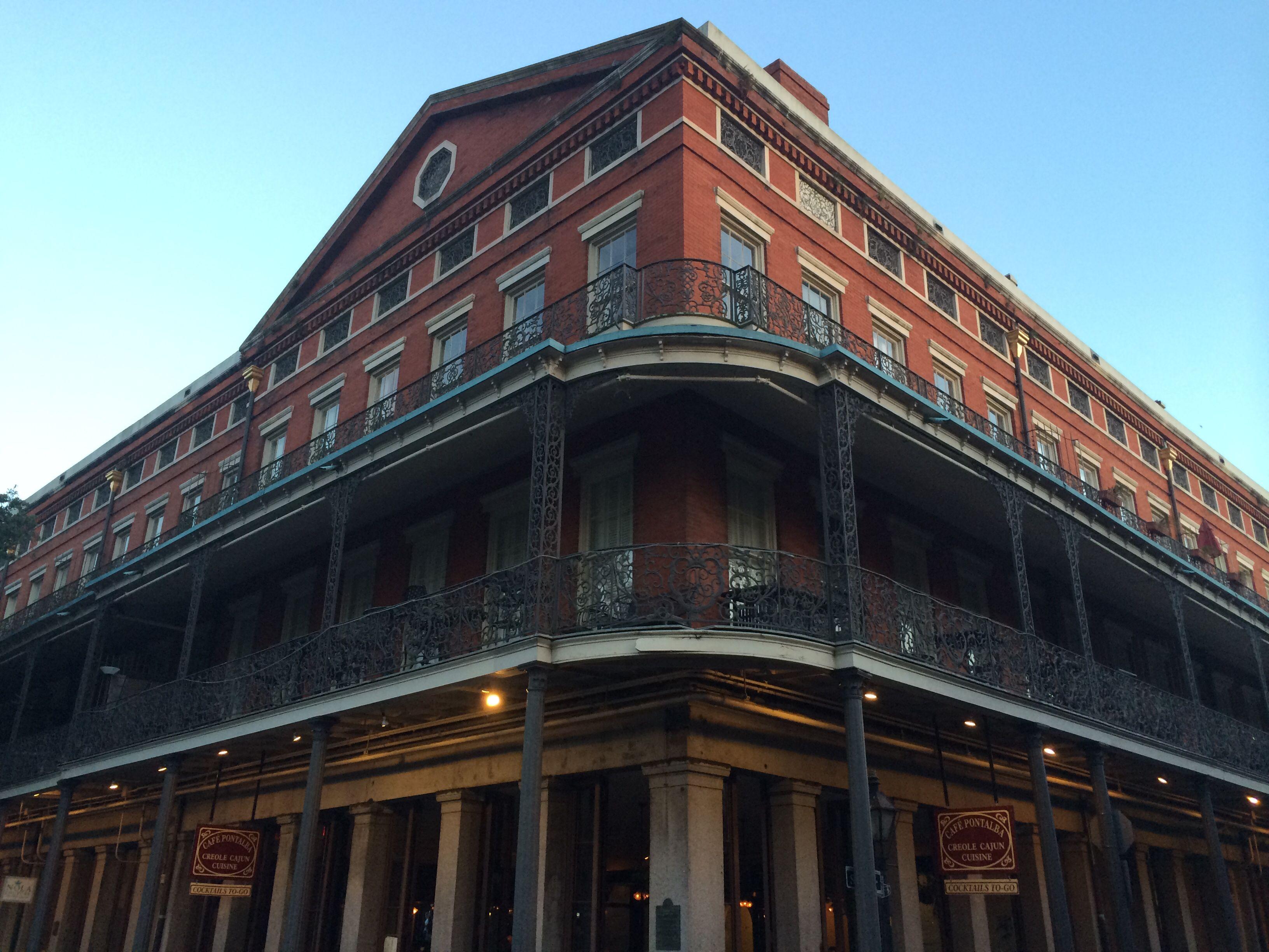 The Upper Pontalba Apartment Building French Quarter New Orleans