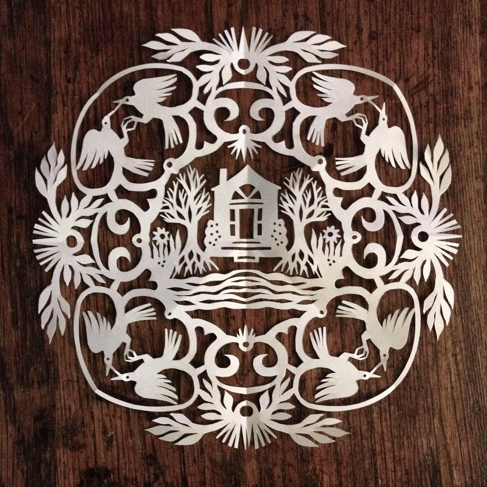 This Papercut Is The Emerlye Arts Entry For The 2014 Art Soul Show To Benefit Vermont S Champlain Housing Trust Art Paper Art Kirigami