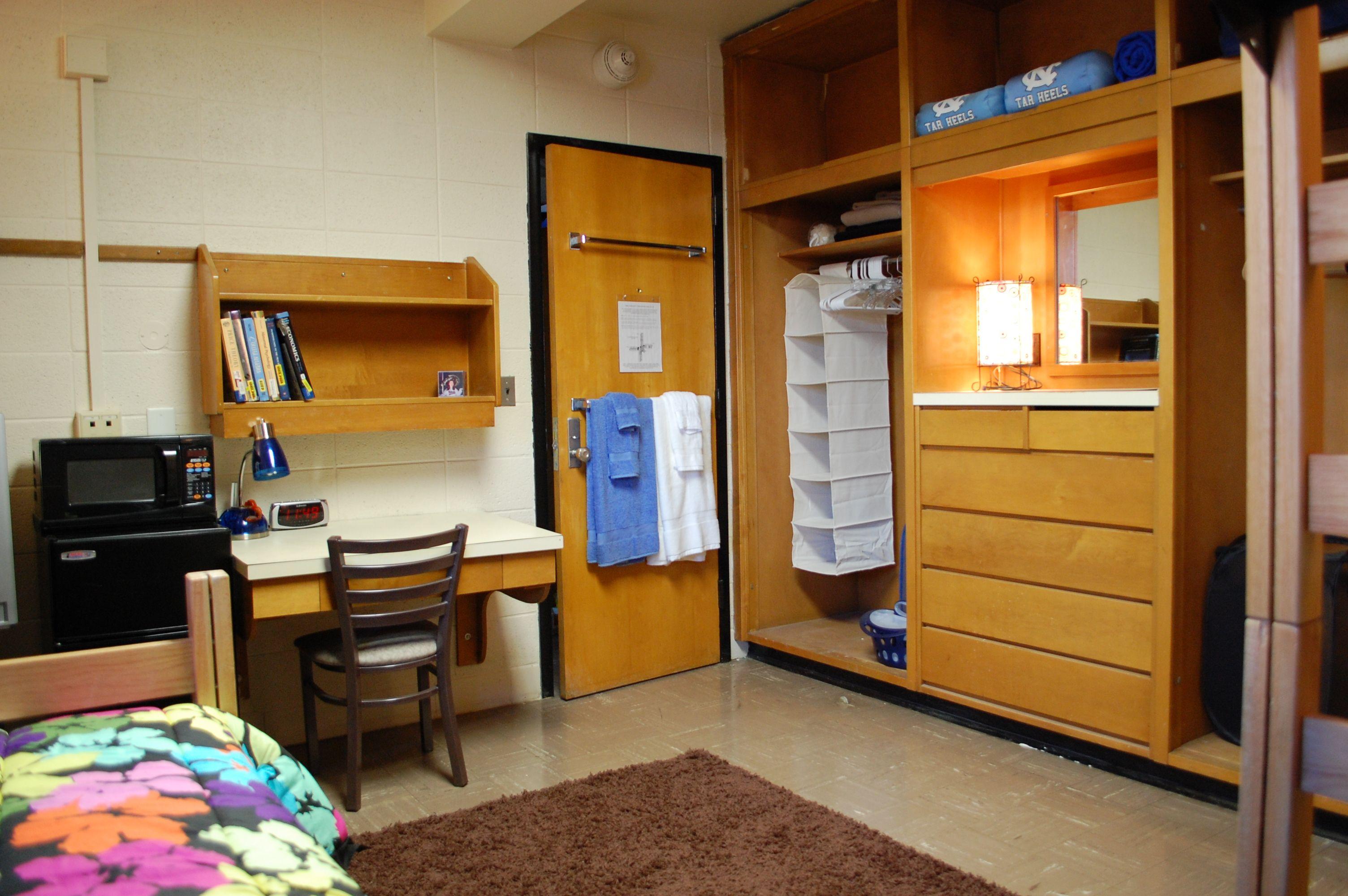 23 U N C D O R M S Ideas Dorm Room Dorm College Dorm