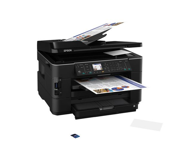 Epson Workforce Wf 7525 Colour Inkjet Wireless Printer A3 Wireless Printer Inkjet Printer Printer