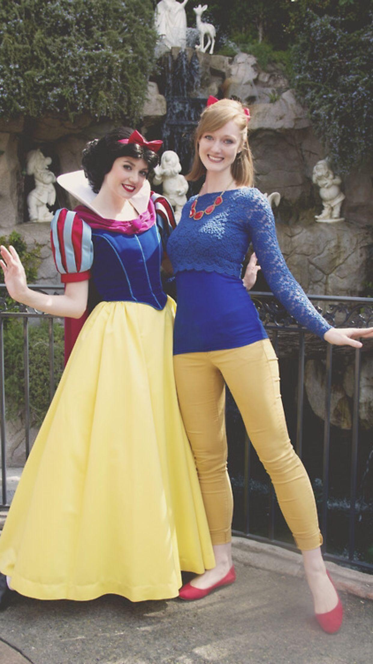 Disney Bounding as Snow White Disney disneybounding