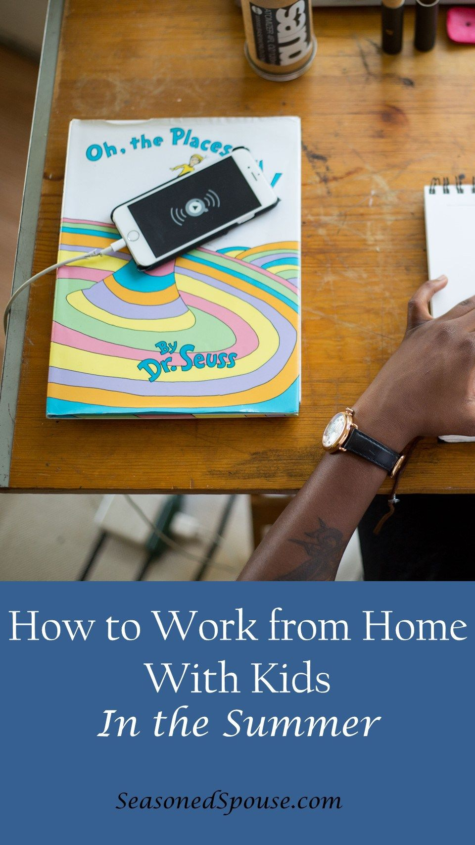 7 tips for a work from home summer Military spouse