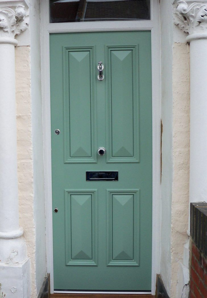 aqua green front doors - Google Search #victorianfrontdoors