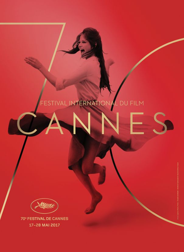 Official Poster Of The 70th Cannes Film Festival Featuring A Still Of Italian Actress Claudia Cardinale Film Festival Poster Dance Poster Graphic Design Trends