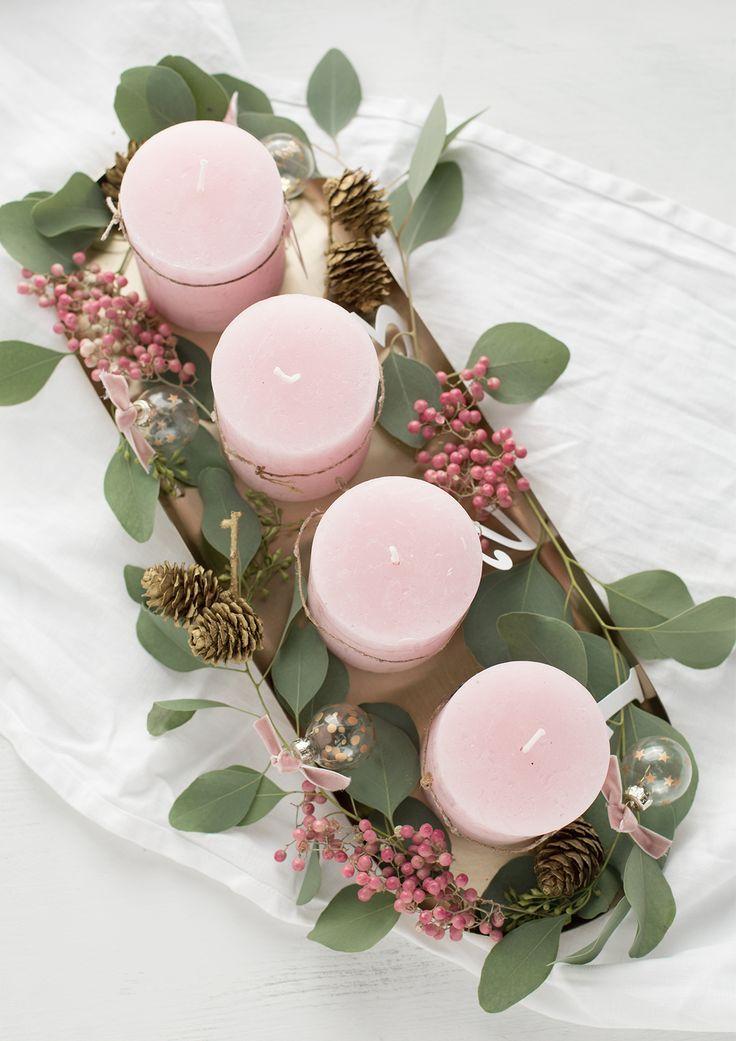 """Photo of Der rosa Pfeffer ist mein absolutes Highlight bei diesem """"Adventskranz"""" und …"""