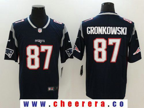 mens new england patriots rob gronkowski navy blue 2017 vapor untouchable stitched nfl nike limited jersey
