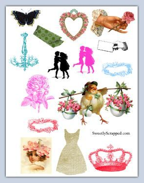 image regarding Free Printable Collage Sheets titled Sweetly Sped No cost Printable Pics. Basic structure