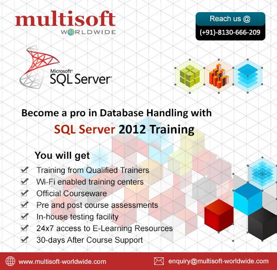 Database Handling with SQL Server 2012 Training SQL Server