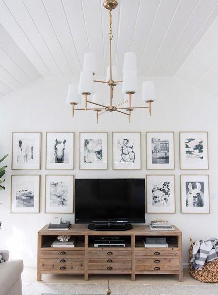 Living Room Tv Setups: One Room Challenge Family Room Reveal!
