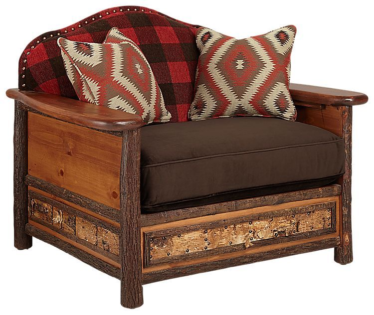 Old Hickory Furniture Woodland Living Room Furniture Collection Chair |  Bass Pro Shops: The Best Hunting, Fishing, Camping U0026 Outdoor Gear