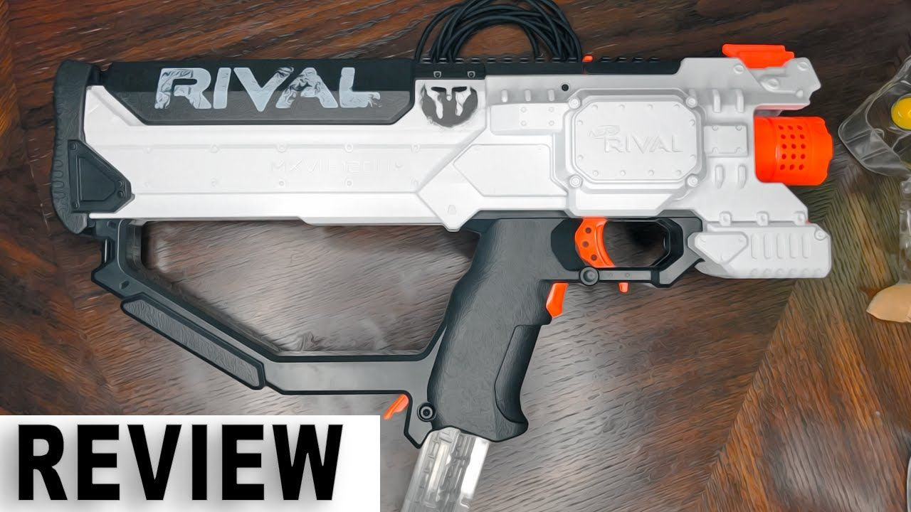 NERF RIVAL HERA MXVI 1200 PHANTOM CORPS BLASTER REVIEW - FIRST ON YOUTUBE! ( NEW