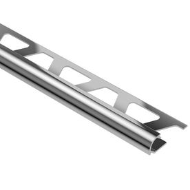 Schluter Systems 0.25-In W X 98.5-In L Aluminum Commercial/Residential Tile Edge Trim Ro60acg
