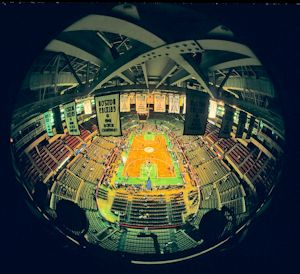1987 Nba Finals Boston Celtics Vs Los Angeles Lakers At Boston Garden Www Basketballphoto Com Boston Garden Boston Celtics Photo