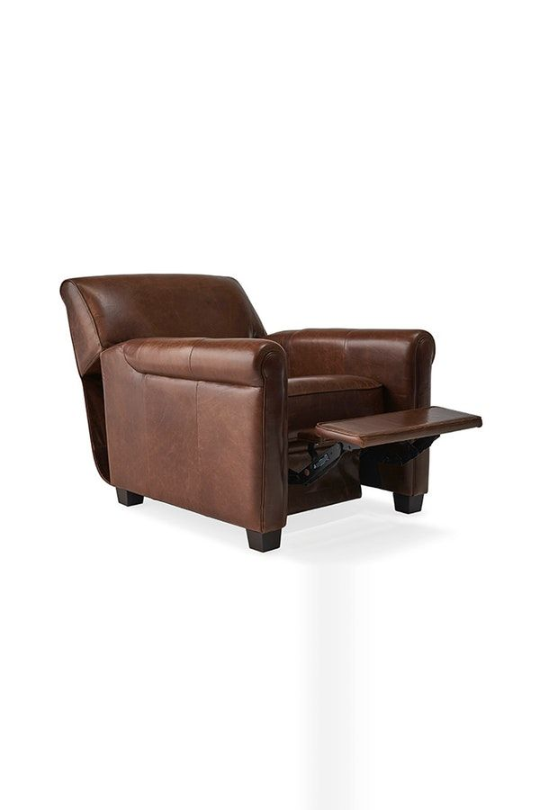 Durant Leather Recliner Chair In 2019 Recliner Leather Recliner