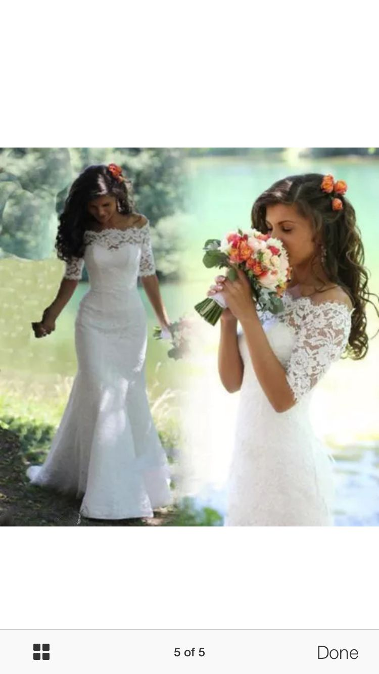 Lace wedding dress wedding pinterest lace wedding dresses