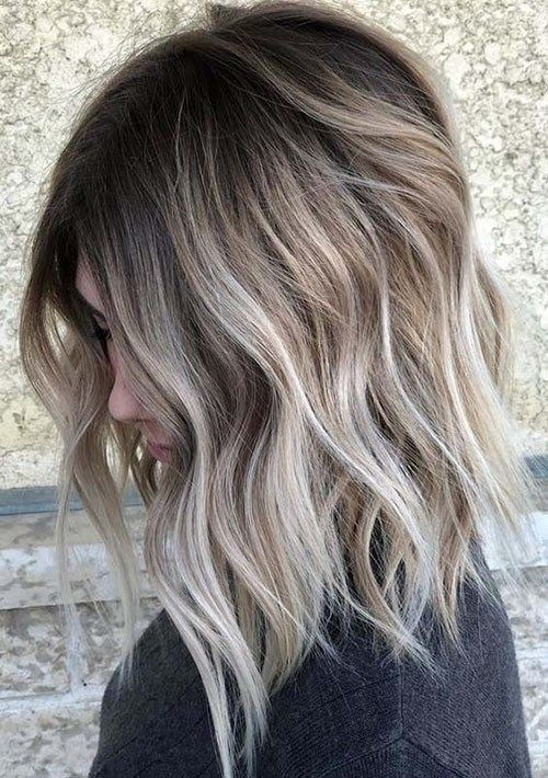 Beautiful Brown To Blonde Ombre Short Hair In 2020 Short Ombre