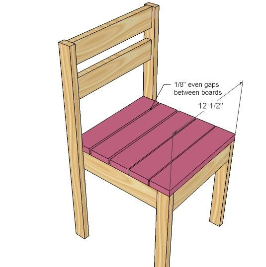 Ana White   Build a Four Dollar Stackable Children's Chairs   Free and Easy DIY Project and Furniture Plans