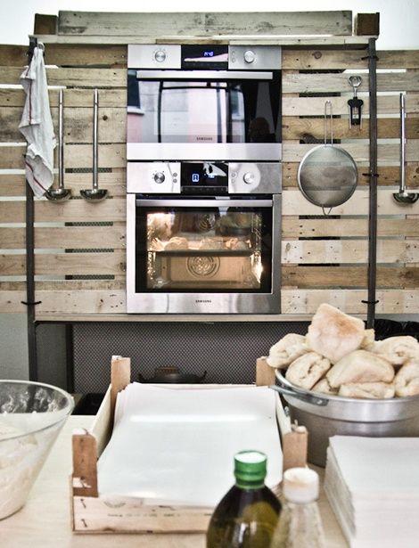 Cocina con palets muebles para la cocina pinterest for Muebles de cocina con palets