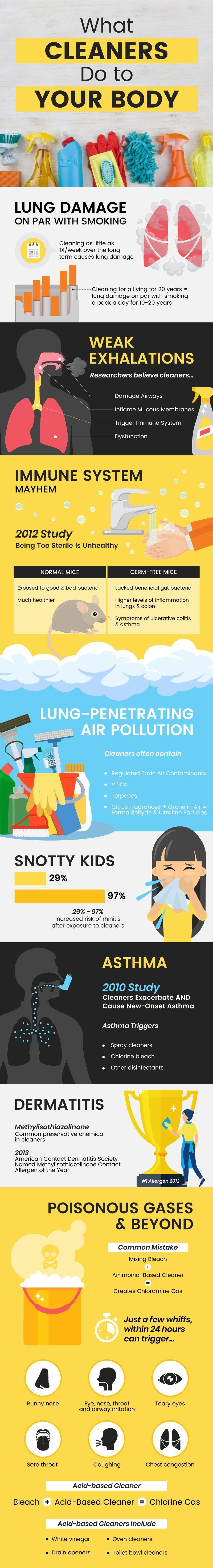 Home Cleaning Products danger, harmful effects of cleaning products