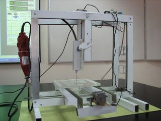 Easy To Build Desk Top 3 Axis Cnc Milling Machine Download Pdf
