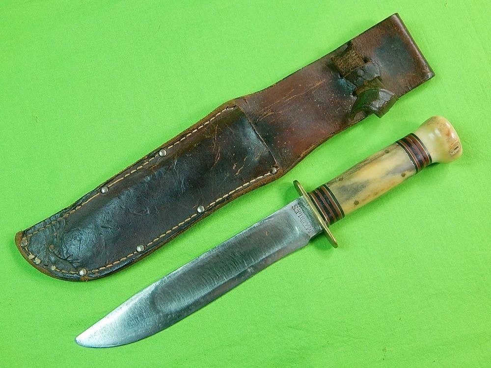 sheath Vintage ideal knife