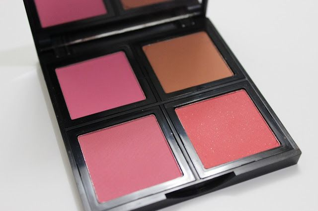ELF Blush Palette in Light: Review & Swatches! | chelseamakeup14