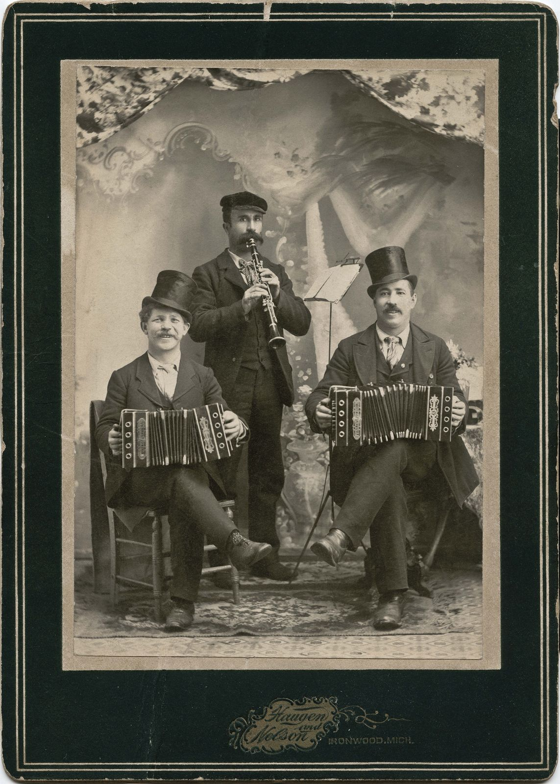 Musical Trio. Ironwood, Michigan. | Musical trio from the Ha… | Flickr