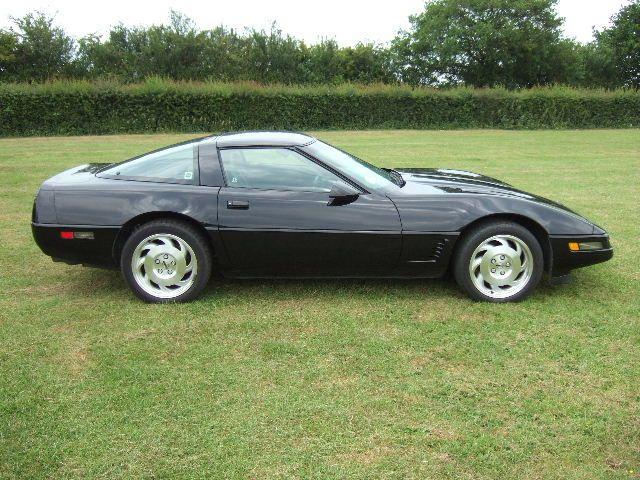1995 Chevrolet Corvette C4 Targa Coupe Black With Black Leather Chevrolet Corvette C4 Cheap Sports Cars Vintage Corvette
