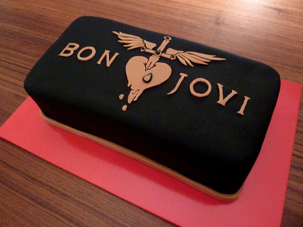 bon jovi t shirt cake - Google Search   cakes - novelty   Pinterest ...
