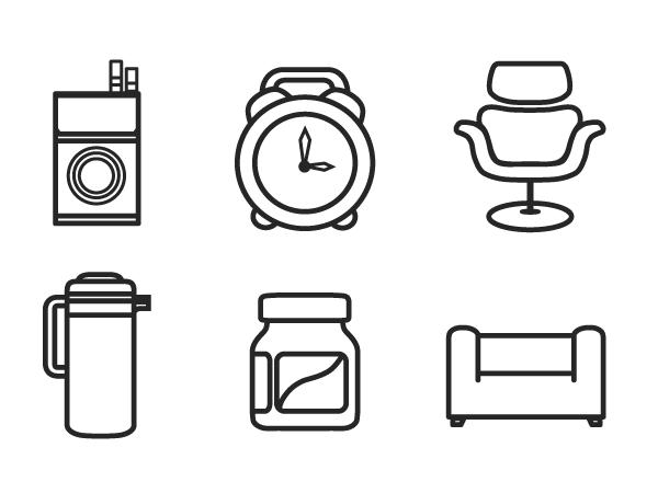 minimal interior design symbols screenshots 2 png  600. minimal interior design symbols screenshots 2 png  600 440    Logo