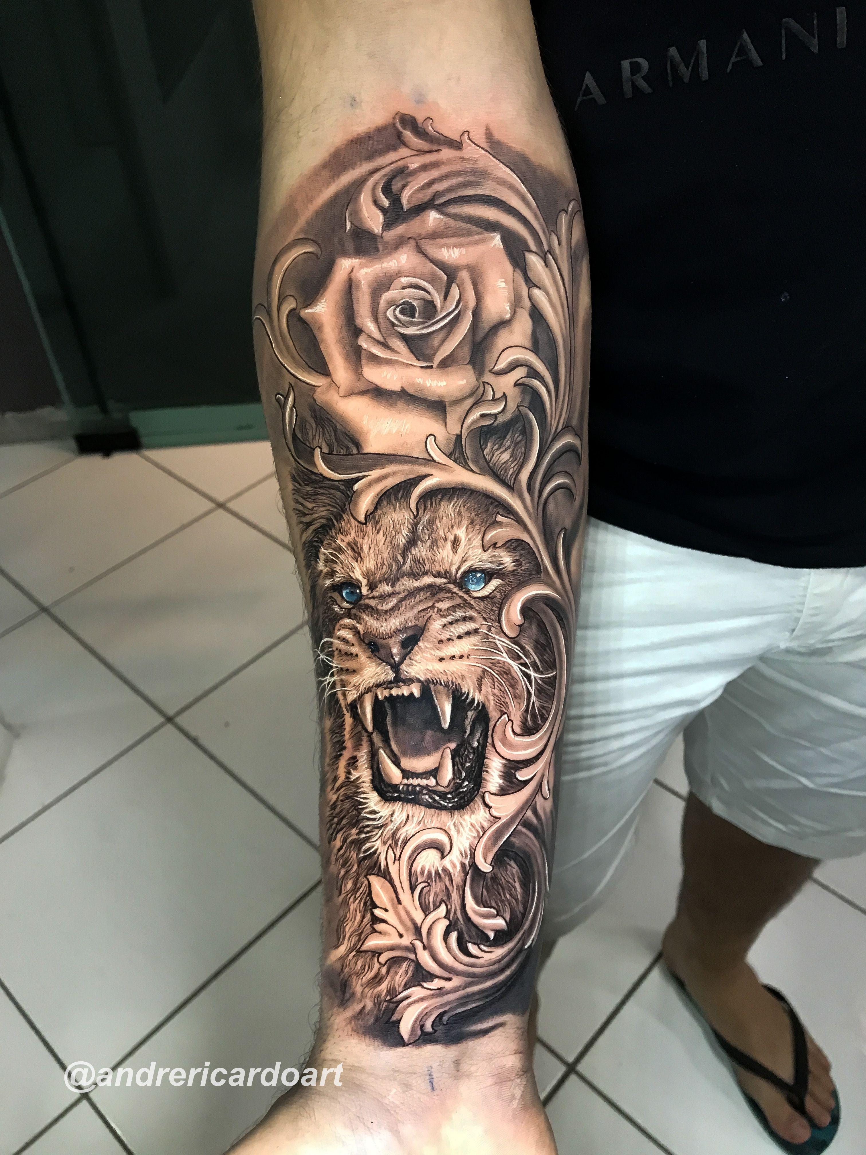 #tattoo #tatuagem #leao #lion #liontatto #realismotattoo
