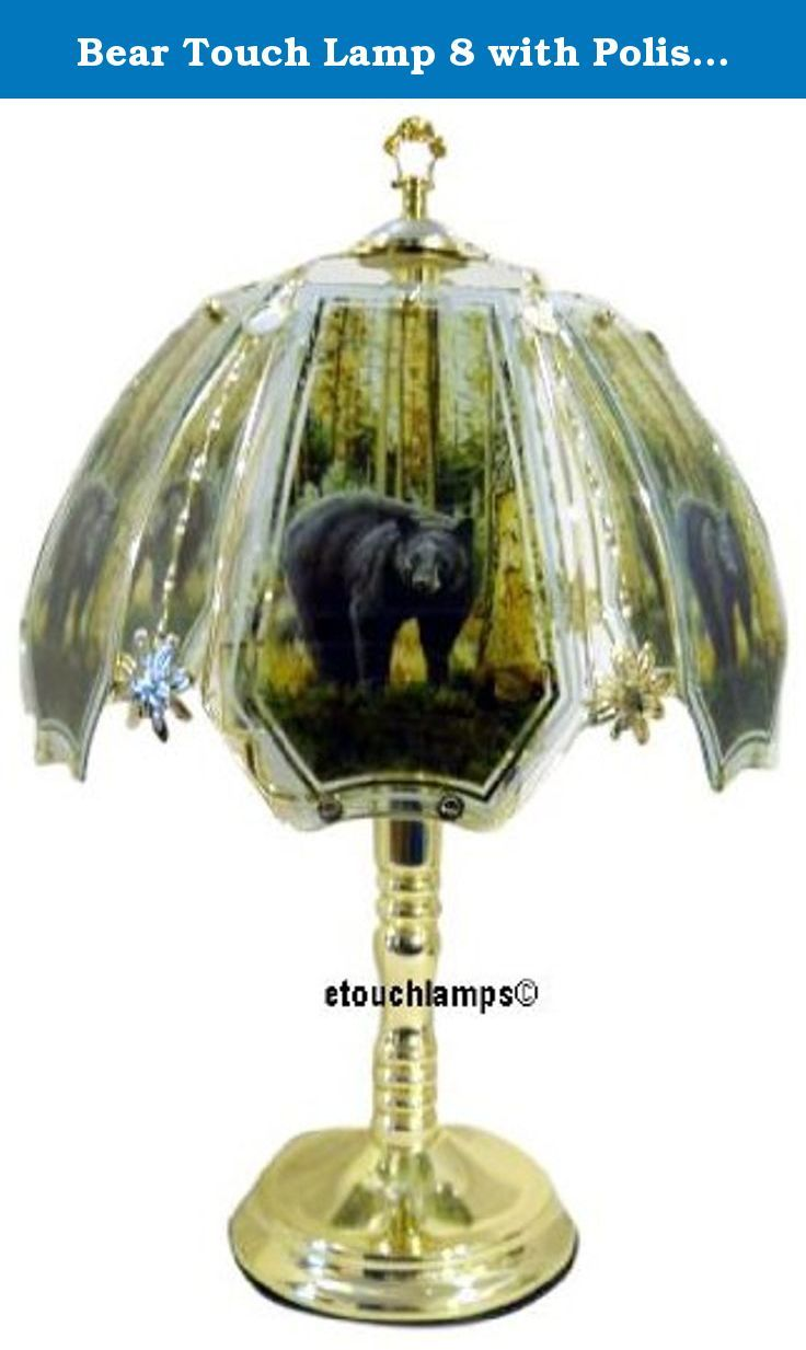 Bear Touch Lamp 8 With Polished Br Base Standing 23 Tall The Of This New Design Our Lamps Has A Finish
