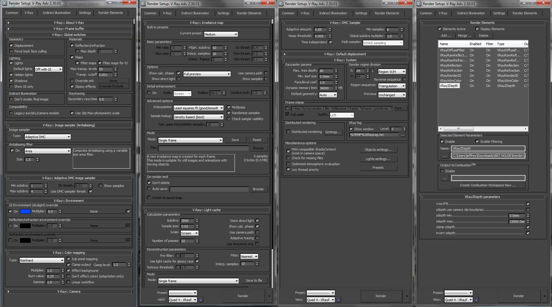 Medium Level Settings Vray Rendering Materials Settings Pinterest 3ds Max