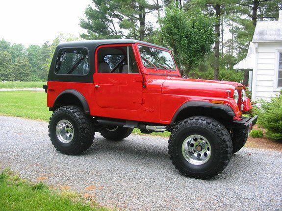 Jeep Cj7 I Bought A New One In 1986 It Got Me To The Grand Canyon And Back Jeep Cj Jeep Cj7 Jeep