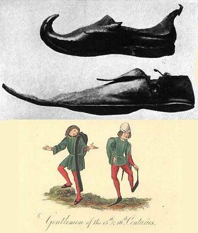 Sapatos: da Pré-História ao Renascentismo
