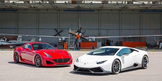 Wallpaper Ferrari California Vs Lamborghini Gallardo 2018 - Carina