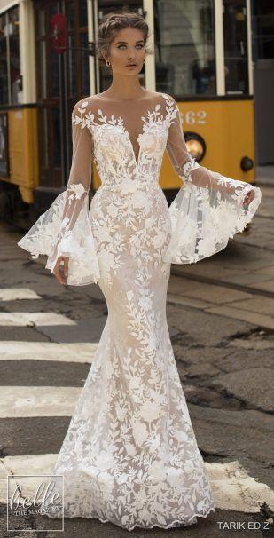 16a2c45f46b6 Tarik Ediz Wedding Dresses 2019